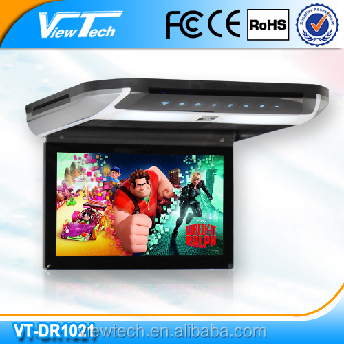 10. 2inch Super Slim Roof Mounted Dvd Player wiith HDMI/USB/SD /wireless games