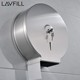 Tissue Paper Jumbo Roll Toilet Roll Holder Stainless Steel Toilet Tissue Dispenser