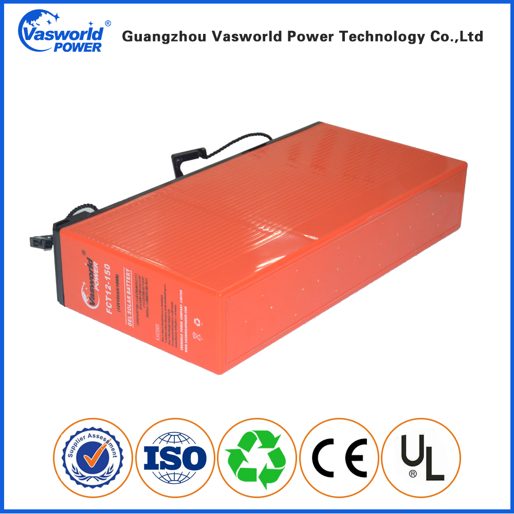 Wholesale Price 48v 24v 12v 150ah Deep Cycle Gel Solar Battery