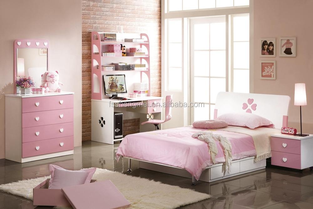 Estilo Polaco Dormitorio Niños Conjuntos Color Blanco Tamaño Queen ...