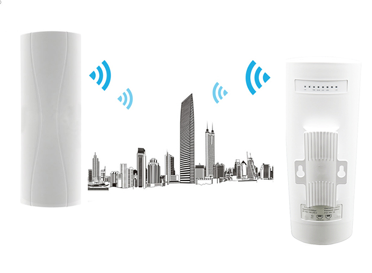 OEM 3Km Long Range Wireless CPE POE 24V 5.8G Outdoor Wireless Network Bridge Wifi Access Point