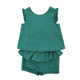 H2906/Baby Girls Clothing Set Ruffle Sleeveless Top With Shorts For Wholesale