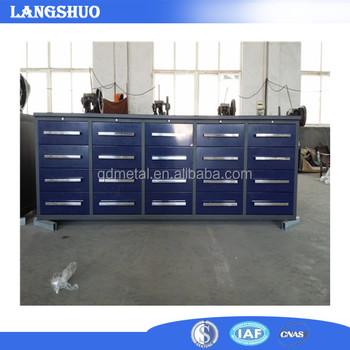 Mechanical Workshop Tools Storage Cabinet Used Industrial