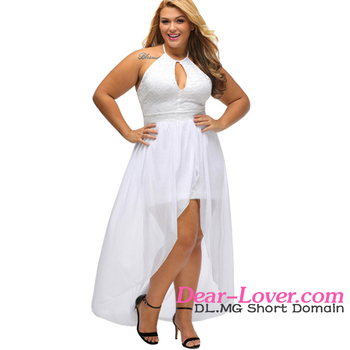 New Design Normal White Special Occasion Plus Size Dinner Party