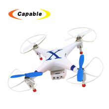 2.4G 4 Channel 4 Aixs RC quadcopter hd video LED light wifi live transmission cheerson CX-30W RC drone helicopter with hd camera