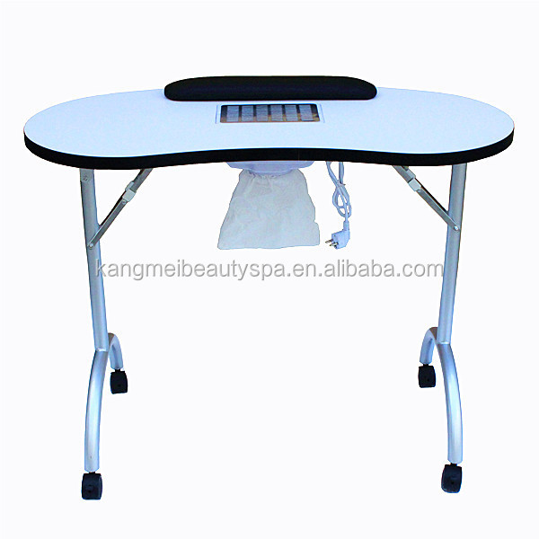 Portable Beauty Nail Table Vacuum With Exhaust Fan N078