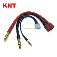 KNT Balance Cable For RC Lipo Battery 2S Car Pack Deans plug to 4mm/2mm Banana Plug Connector