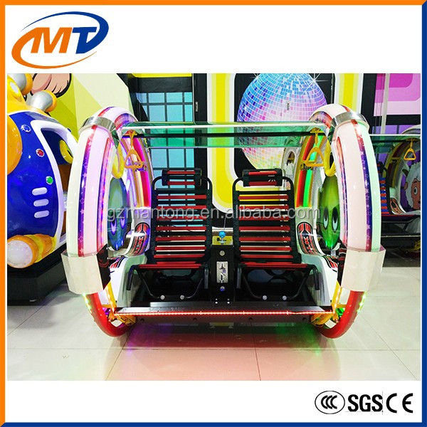 happy family car fun balance rides rotating riders