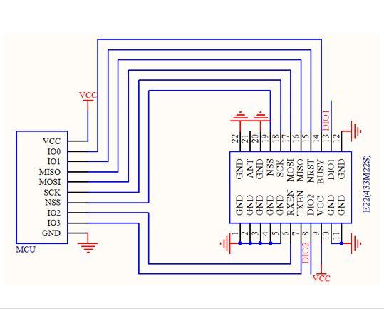 Sx1262 868/915mhz E22 (900m22s) Lora Gfsk Spi Wireless Module - Buy  Sx1262,Sx1262 Lora,Sx1262 Lora Module Product on Alibaba com