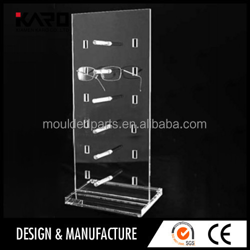 Mould Injection acrylic Plastic Sunglass Display