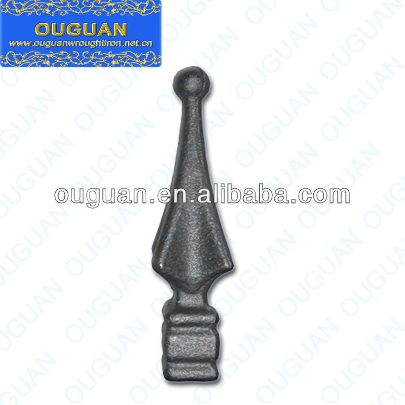 Ornamental iron spears and finials iron spear points ornamental