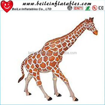 Factory Direct Supply Giant Inflatable Giraffe Character And Lifelike Realistic for Outdoors Promotion