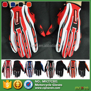 Fashionable Lycra Microfiber Synthetic Motorcycle Gloves For Sale MV27CE01