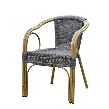 Peacock Chair Rattan Furniture French Bistro Wicker Arm Chairs For Sale