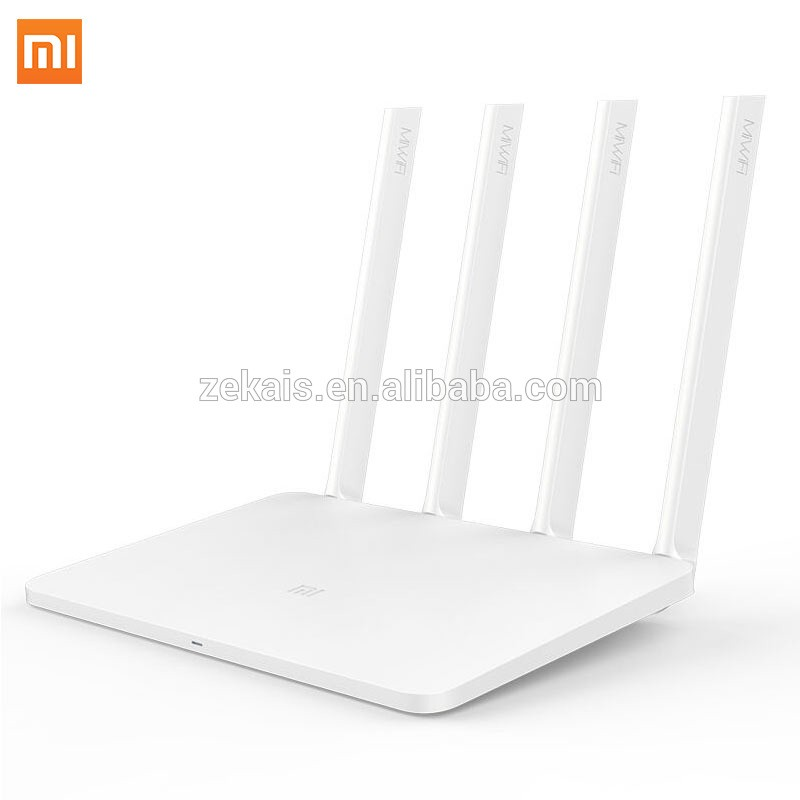 Original Xiaomi Router 3 English Version Mi Wifi Router 1167Mbps 2.4G/5G Dual Band 128MB ROM With 4 Antennas Wireless Router