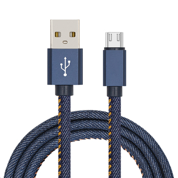 Promotional Cord USB 2.0 Data sync Charger V8 Micro Usb Cable for Samsung