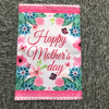 Custom Happy Mother's Day Floral Garden Flag, Perfect for Mother Gift and Indoor Outdoor Garden Decoration