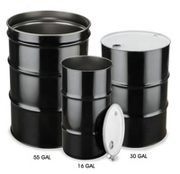EMPTY 55Gallon 200 LITRE Drum METAL OIL DRUM