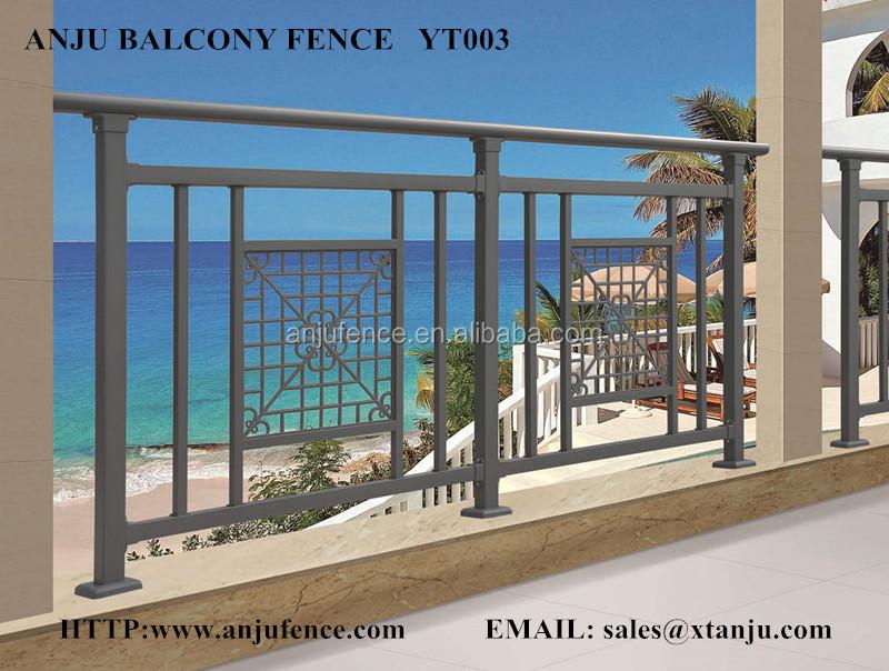 China Supplier Decorative Steel Balcony Railing Designs Yt003 ...