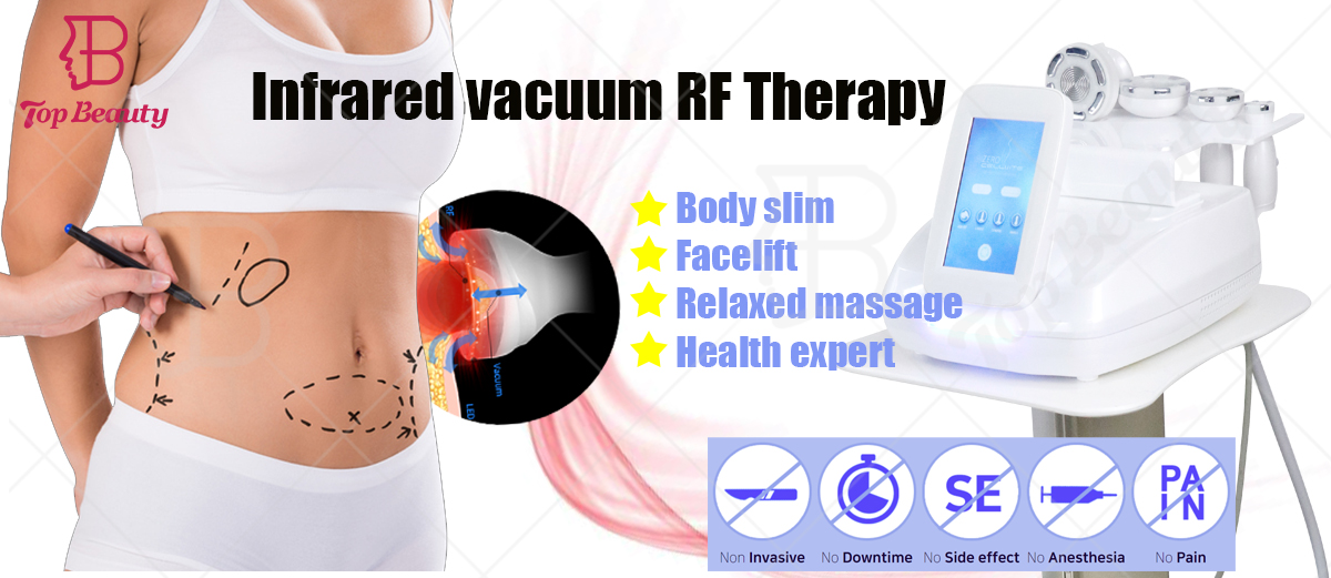 Top Beauty 2020 trend vacuum rf cavitation machine