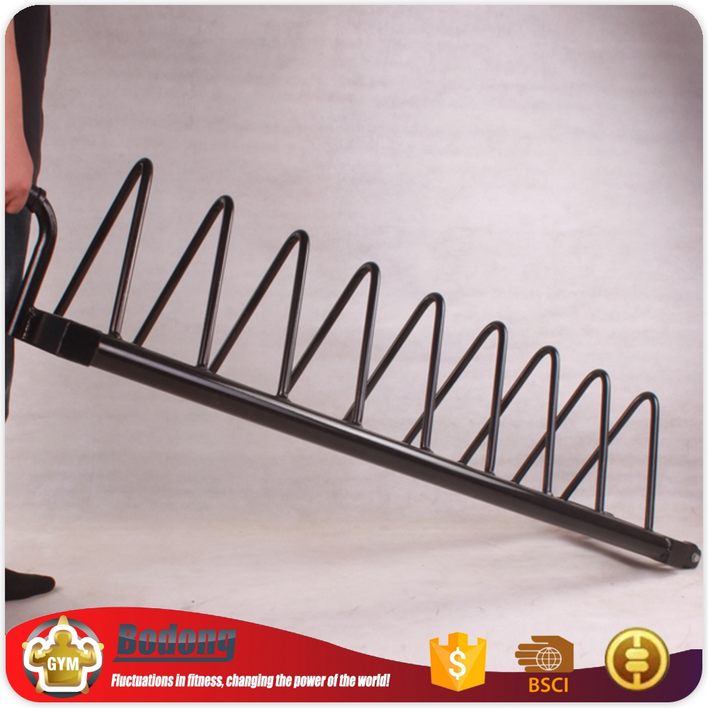 Fashionable new style barbell rack equipment weight plate tree for foreign trade