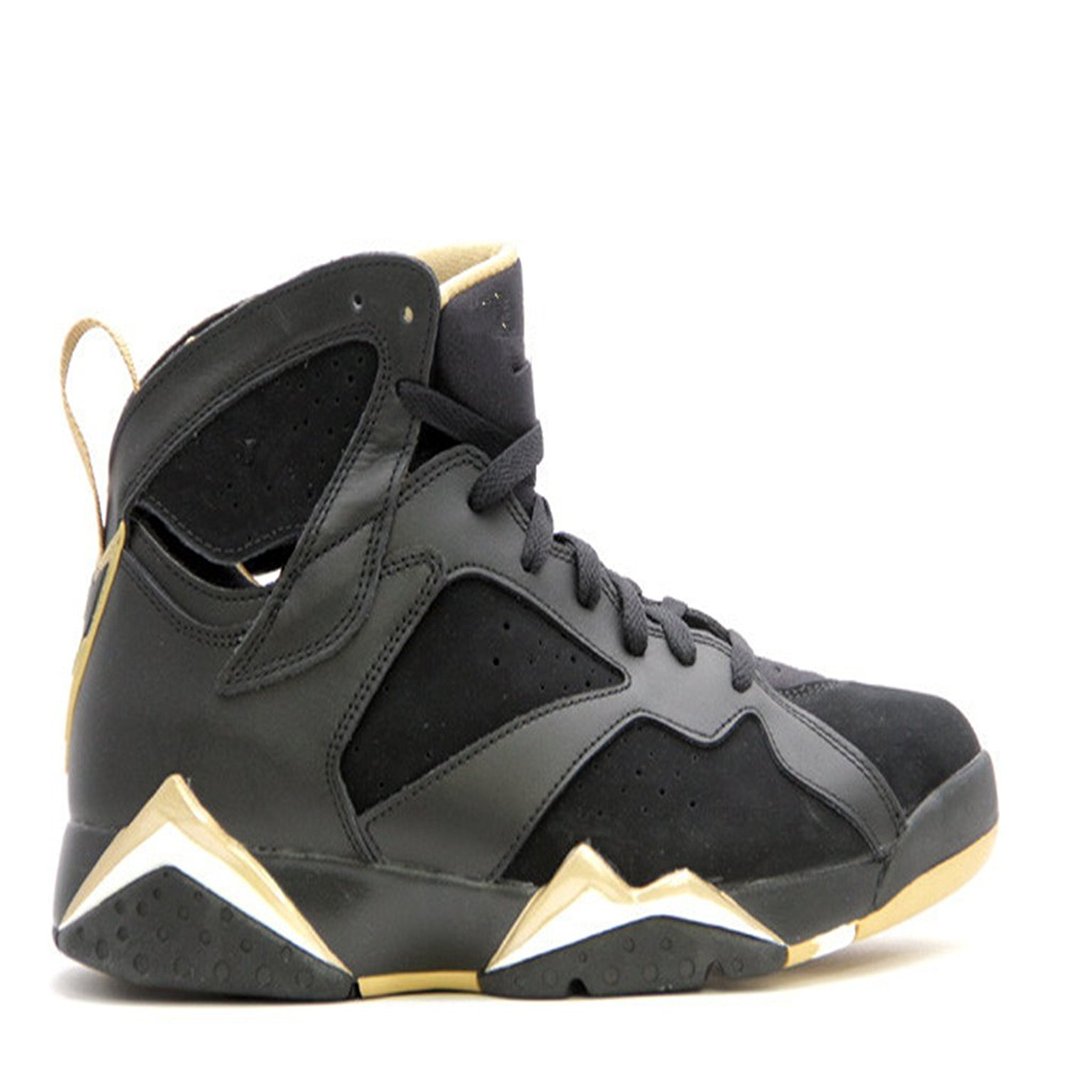 factory price 4f3c7 65974 Get Quotations · air jordan 7 retro golden moments package black metallic  gold white basketball shoes