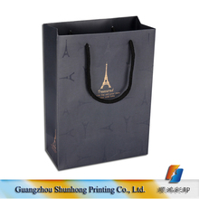 black promotional paper sacks with handles wholesale