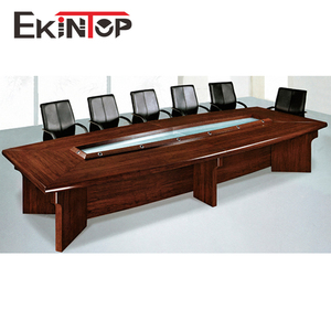 Luxury 20 person modern meeting room conference office table