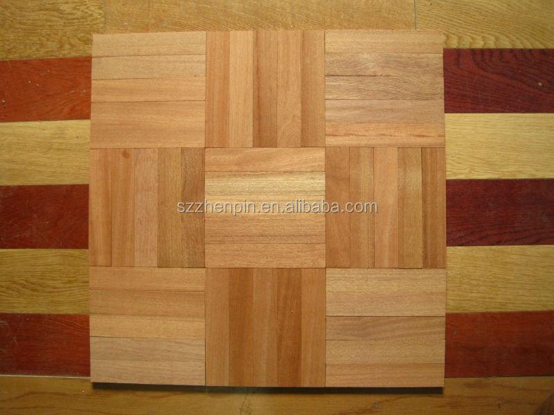 Mosaic Parquet 5 Finger Merbau Parquet Flooring Five