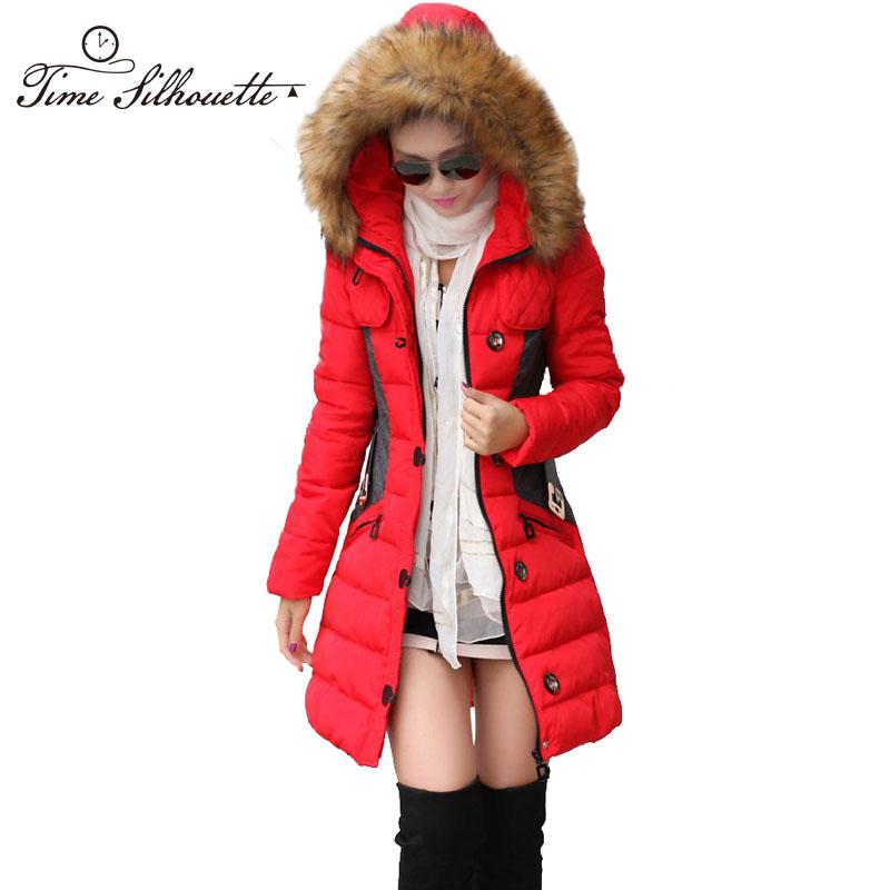 e784283f7 Brand New Winter Jacket Women Parka Coat Abrigos y Chaquetas Mujer ...