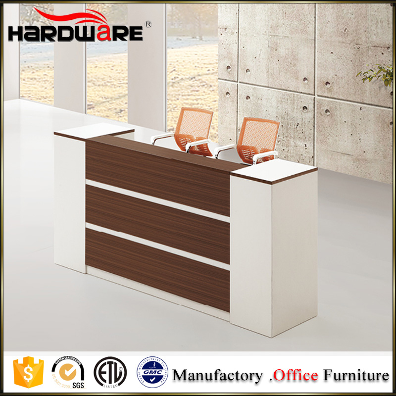 Factory Prices White Office Furniture Front Desk Reception Counter