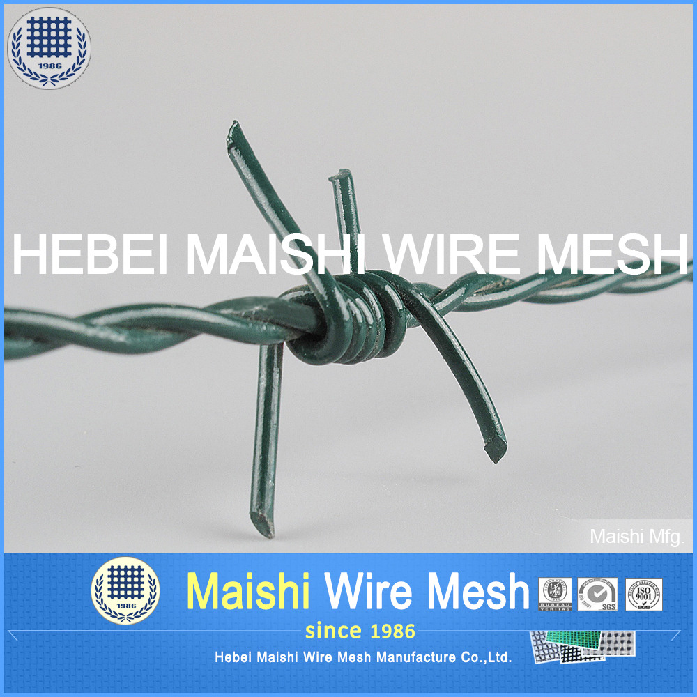Pvc Green Barbed Wire, Pvc Green Barbed Wire Suppliers and ...