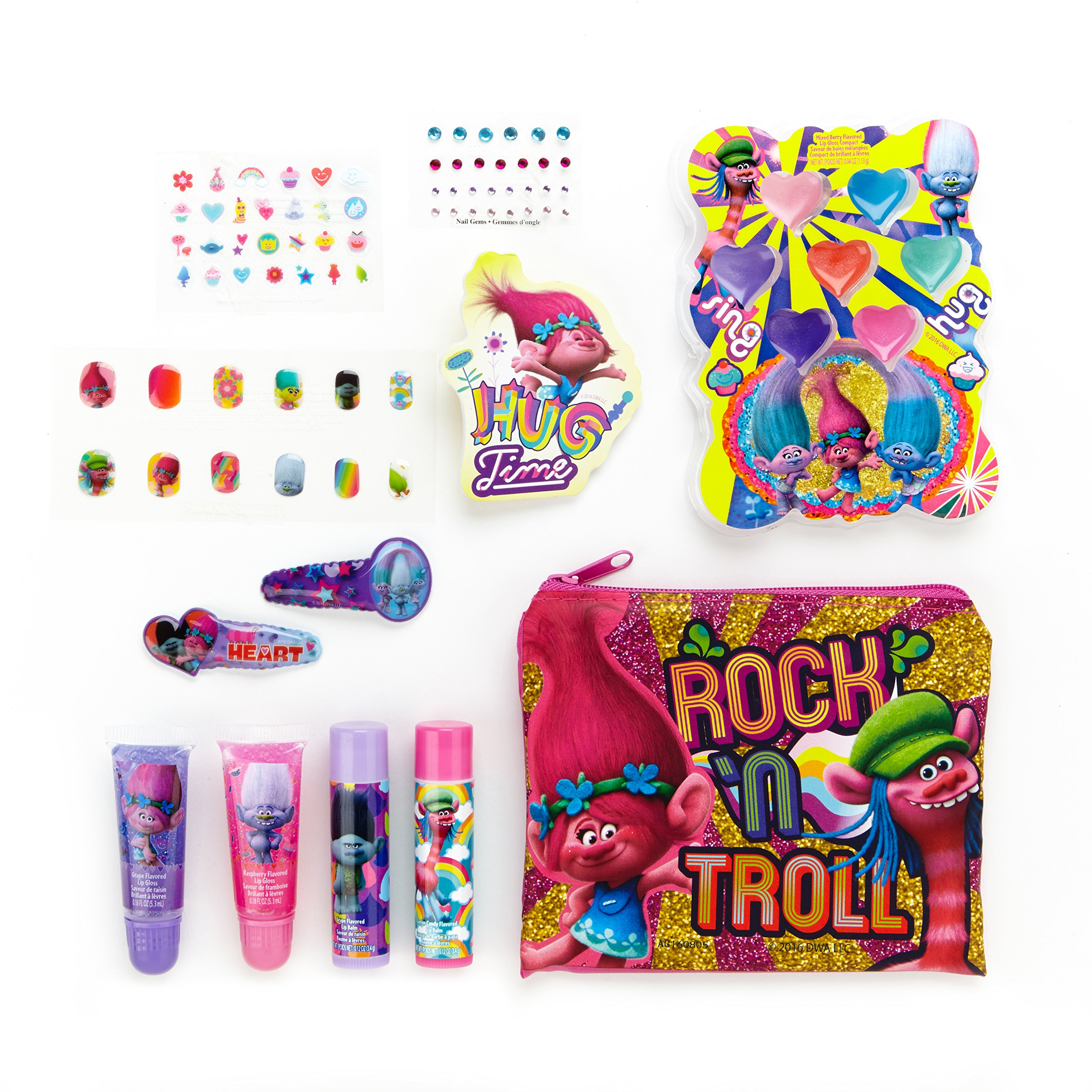 Buy Townley Girl Dreamworks Trolls Sparkly Lipgloss For