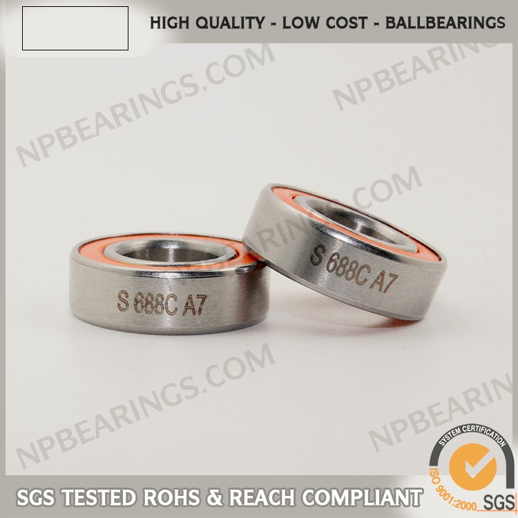 China supplier precision deep groove 2 3 16 stainlees steel bearing