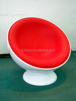 Comfortable Round Swivel Ball Chair Leisure Living Room Egg Sofa