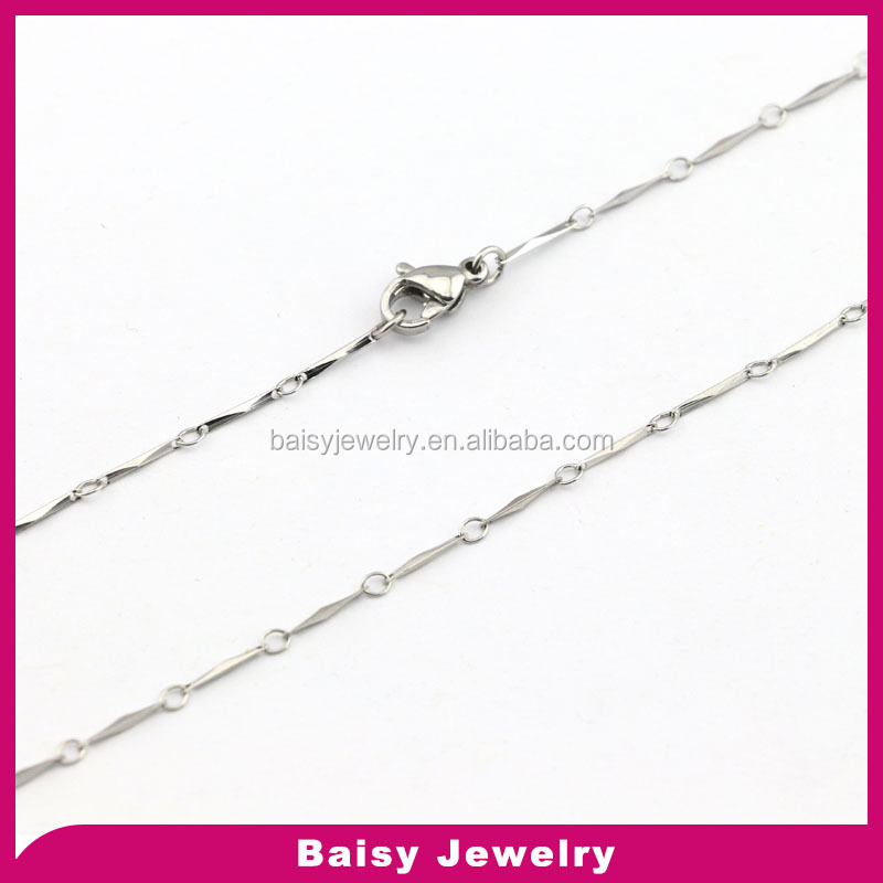 China factory direct sale 316l stainless steel 14k gold filled chain