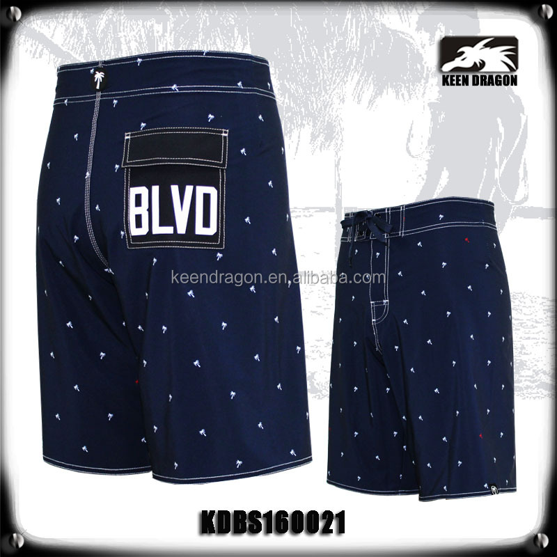 Men's new surf shorts four way stretch sublimation boardshorts