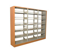 High Quality Library Furniture Used Library Bookcases Used Library Shelving