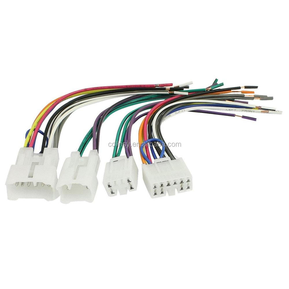 Auto Car DVD GPS Connector Wire Harness car dvd player wire harness, car dvd player wire harness suppliers OEM Wiring Harness Connectors at aneh.co