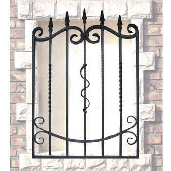 Wrought Iron Window Grill Design 2019 6