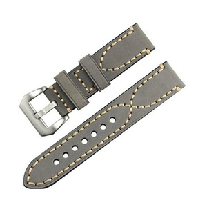 Popular Leather strap Quick replacement Watch strap Stainless steel buckle 20mm 22mm 24mm