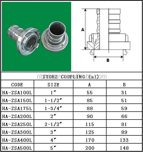 Al Storz Coupling And Instantaneous Fittings Buy Storz