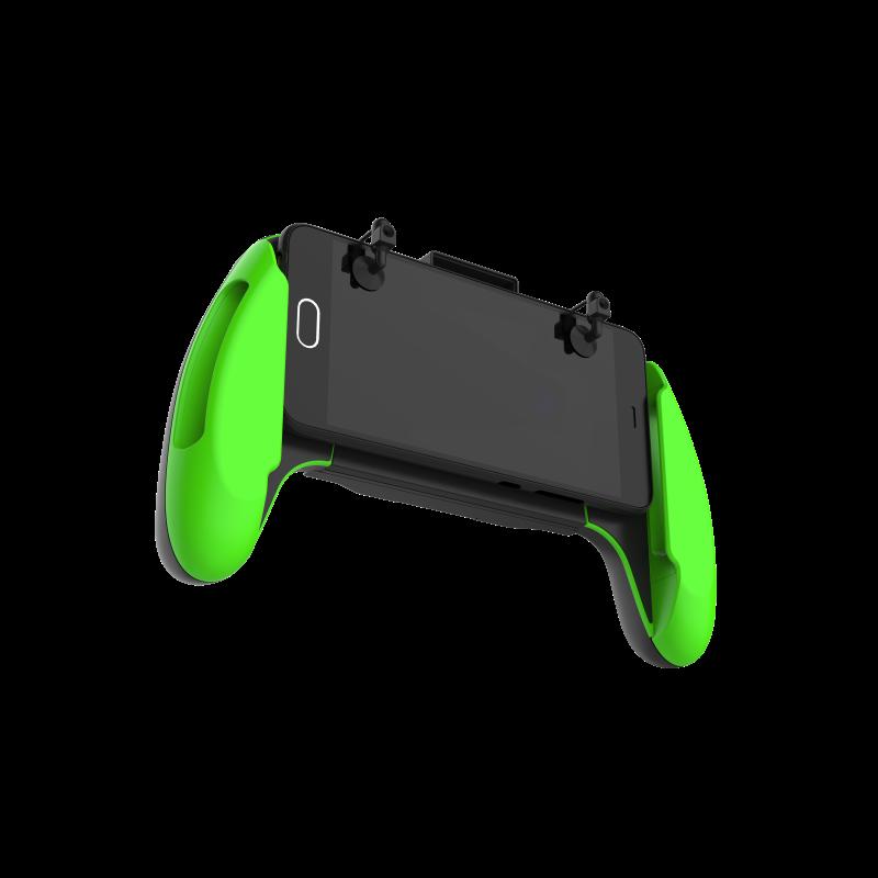 Smartphone Mobile Gaming Trigger Handle Fire Button Aim Key Joystick L1r1 Shooter Controller Pubgps4 Buy Pubgps4wireless Game Controllergamepad
