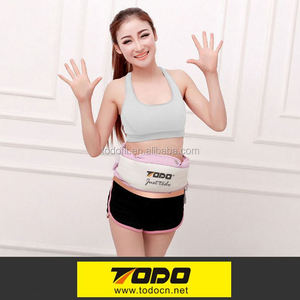 Health care electric shaking belly waist lose weight massage slimming belt