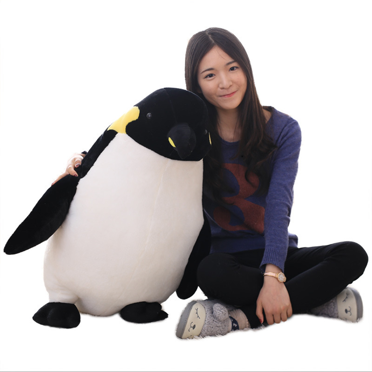 Big size wholesale baby stuffed plush penguin toy