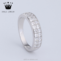 Wholesale 925 Sterling Silver Unique Engagement Rings With Diamond For Couples