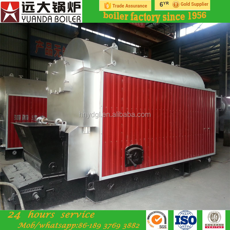 Natural circulation type and new condition horizontal wood fired steam boiler