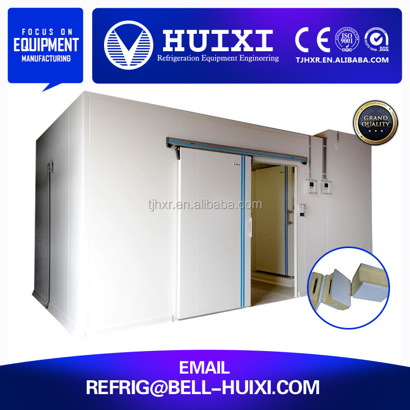 Vegetable PU Insulation Cold Storage Manufacturer