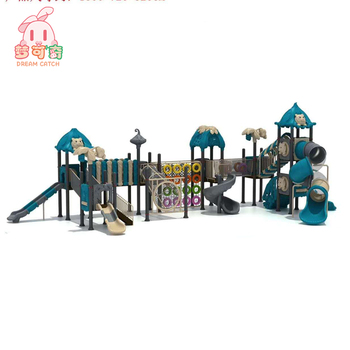 used school outdoor play set swing set playground equipment for sale