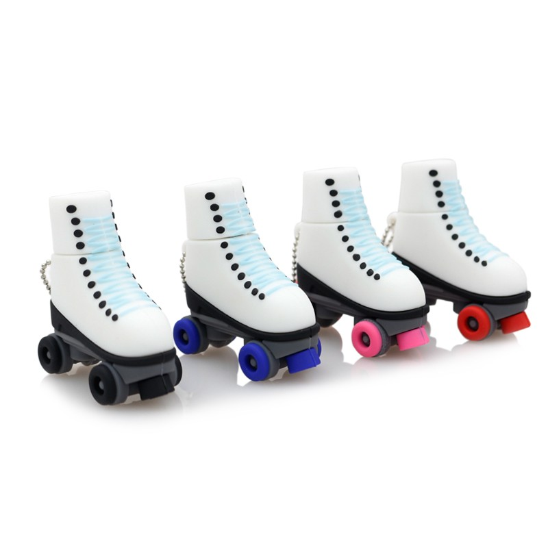 Sleepwear & Robes Clothing, Shoes & Accessories Ice Skates Pen Drive 64gb Mini Usb Flash Drive Genuine Pendrive 4gb 8gb 16gb 32gb Roller Skates Shoes Memory Stick Thumb Drive Products Hot Sale
